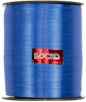 Стрічка фольгована для повітряних кульок та декору блакитна