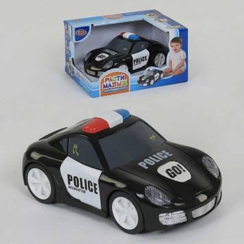 """Машина PLAY SMART """"Зростай малюк"""" Поліція сенсор,кнопки,звук.,світ,в кор-ці  №7835(12) КІ"""