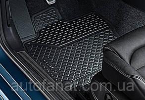 Оригинальные коврики в салон Volkswagen Golf 7  с 2013, всепогодные передние и задние (5G106150082V)