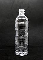 Пэт бутылка 500 мл. с узким горлом (28 мм), прозрачная, 160 шт./уп., фото 1