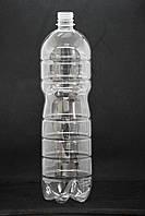 Пэт бутылка 1,5 л. с узким горлом (28 мм), прозрачная, 90 шт./уп.