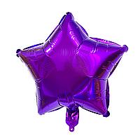"""Фольгированный шар """"Звезда"""" фиолетовый"""