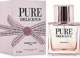 Женская парфюмированная вода  Pure Delicious 100ml. Karen Low.Geparlys (100% ORIGINAL)