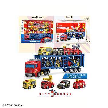 """Трейлер інер-ий """"City Rescue"""" машини 8шт,в кор-ці №278-45(24) КІ"""