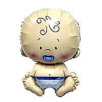 """Фольгированный шар фигурный """"Малыш"""" мальчик"""
