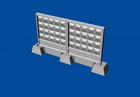 Набор советских бетонных заграждений тип ПО-2 м. 1/144 METALLIC DETAILS MDR14402