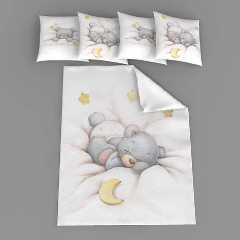 """Набір сатинових панелей """"Сплячий ведмедик"""", фото 2"""