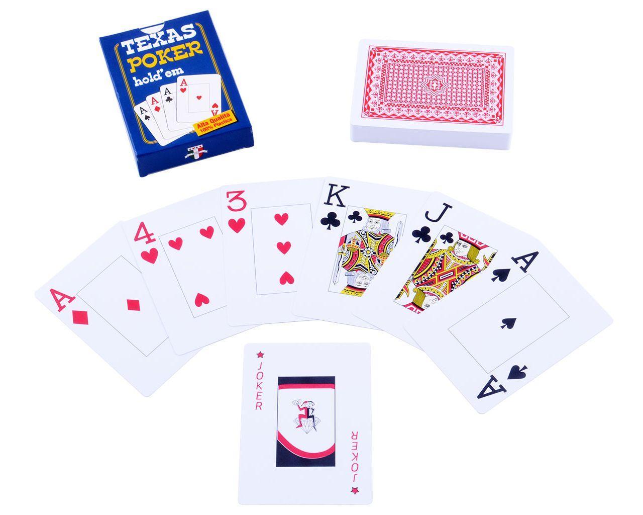 Карты пластиковые Texas Poker (54шт)
