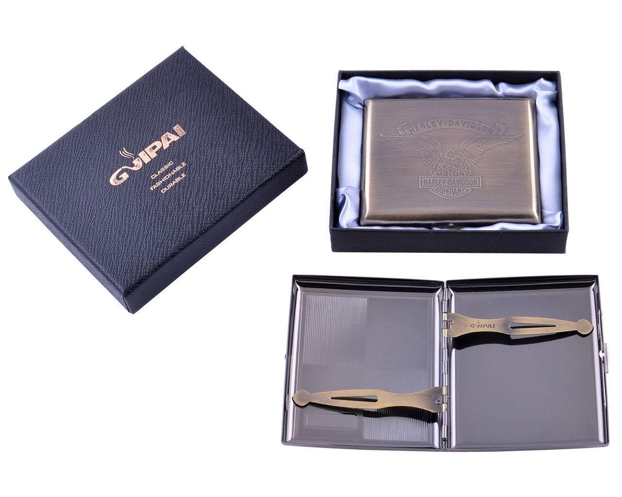 Портсигар в подарочной упаковке GVIPAI (20 шт)