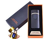 USB зажигалка в подарочной упаковке Lighter, фото 1
