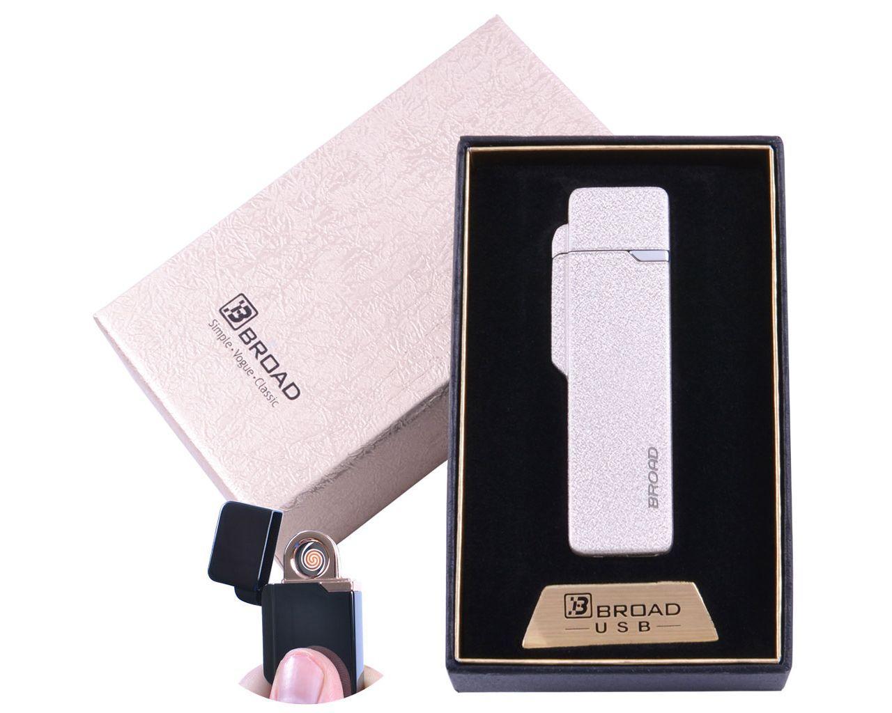 """USB зажигалка в подарочной упаковке """"BROAD"""""""
