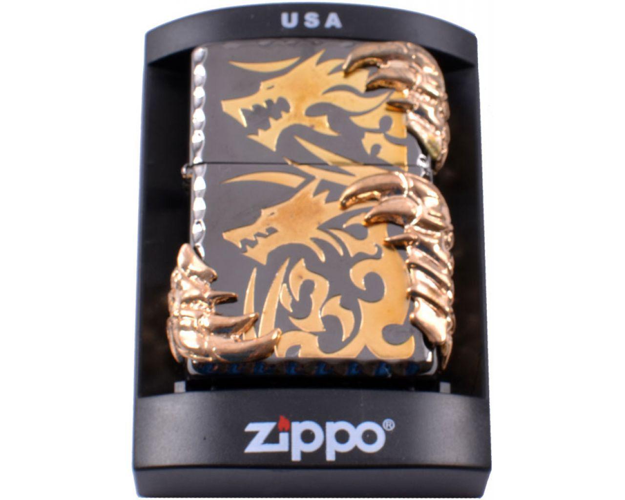 "Бензиновая зажигалка Zippo ""Dragon claw"""