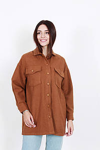Теплые рубашки FAMO Рубашка Джейлин капучиновая M M (407) #L/A