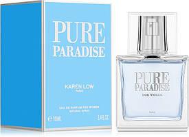 Женская парфюмированная вода  Pure Paradise 100ml. Karen Low.Geparlys (100% ORIGINAL)