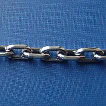Срібна ланцюжок, 450мм, 11 грам, якірний плетіння, фото 3