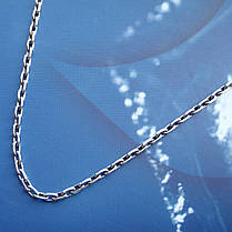 Срібна ланцюжок, 450мм, 11 грам, якірний плетіння, фото 2