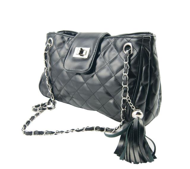 Женская сумочка W25 black вид сбоку