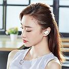 Bluetooth наушники Xiaomi Earbuds (ZBW4420GL) беспроводные гарнитура белые, фото 3
