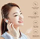 Bluetooth наушники Xiaomi Earbuds (ZBW4420GL) беспроводные гарнитура белые, фото 4