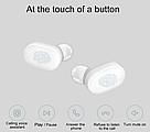 Bluetooth наушники Xiaomi Earbuds (ZBW4420GL) беспроводные гарнитура белые, фото 5