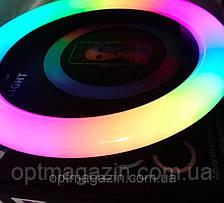 Кольцевая лампа 33 см RGB кольцевой светодиодное led, фото 2