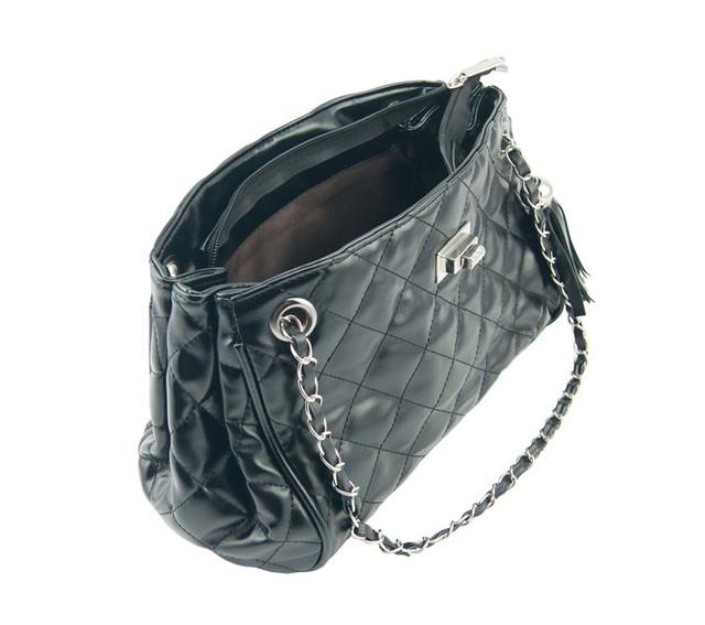 Женская сумочка W25 black вид сверху