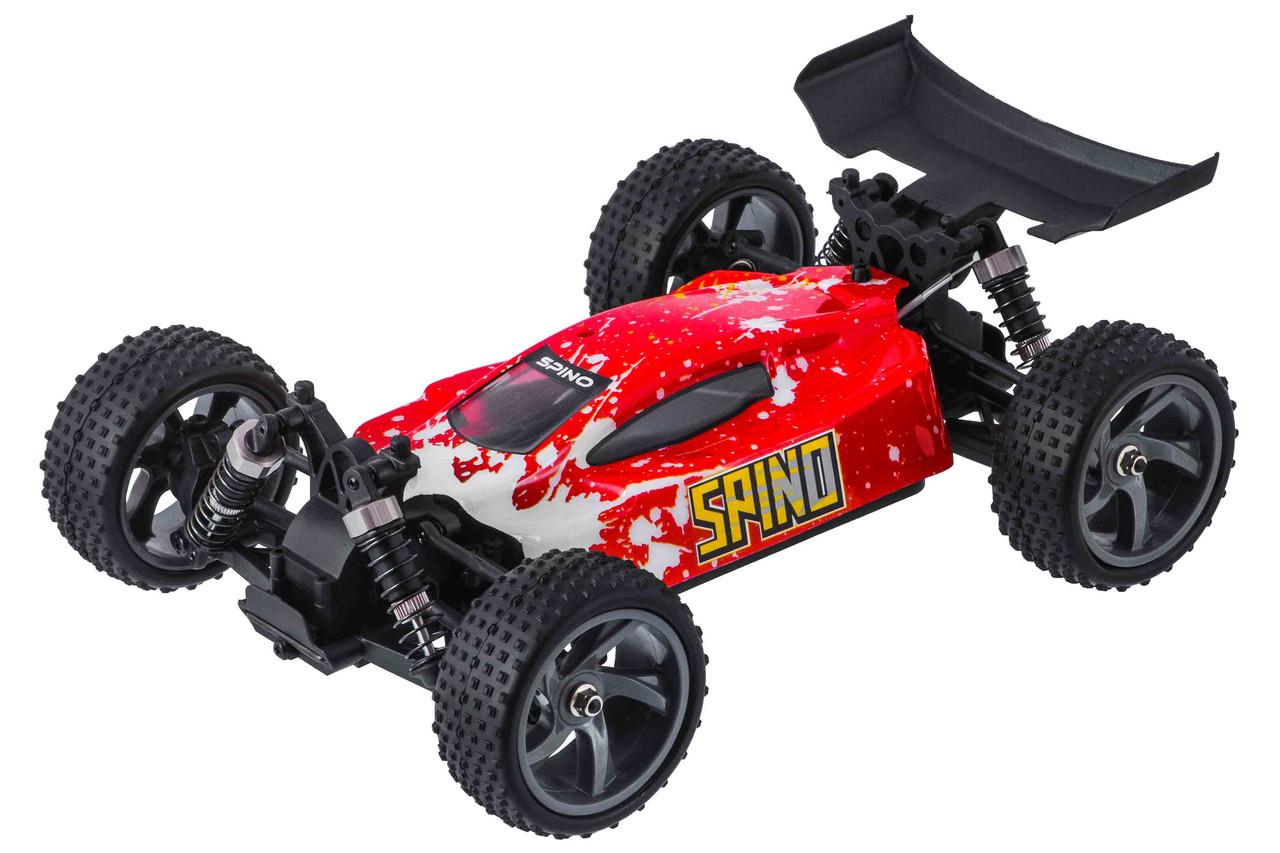 Радиоуправляемая модель Багги 1:18 Himoto Spino E18XB Brushed (красный)