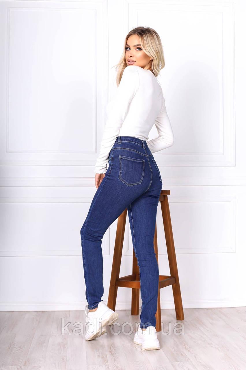 Прямые базовые джинсы / арт.562
