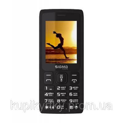 Мобильный телефон Sigma X-style 34 NRG Black (4827798121719)