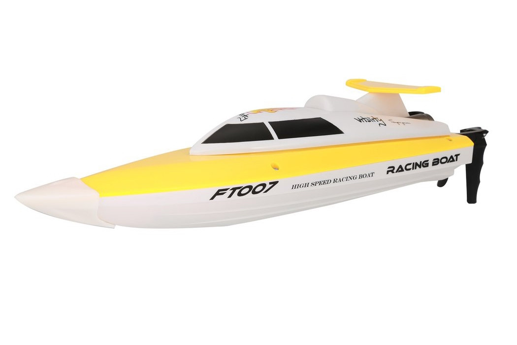 Катер на радиоуправлении Fei Lun FT007 Racing Boat (желтый)