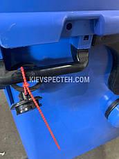 Євроконтейнер  Sulo з пласкою кришкою 1100 л. синій, фото 3