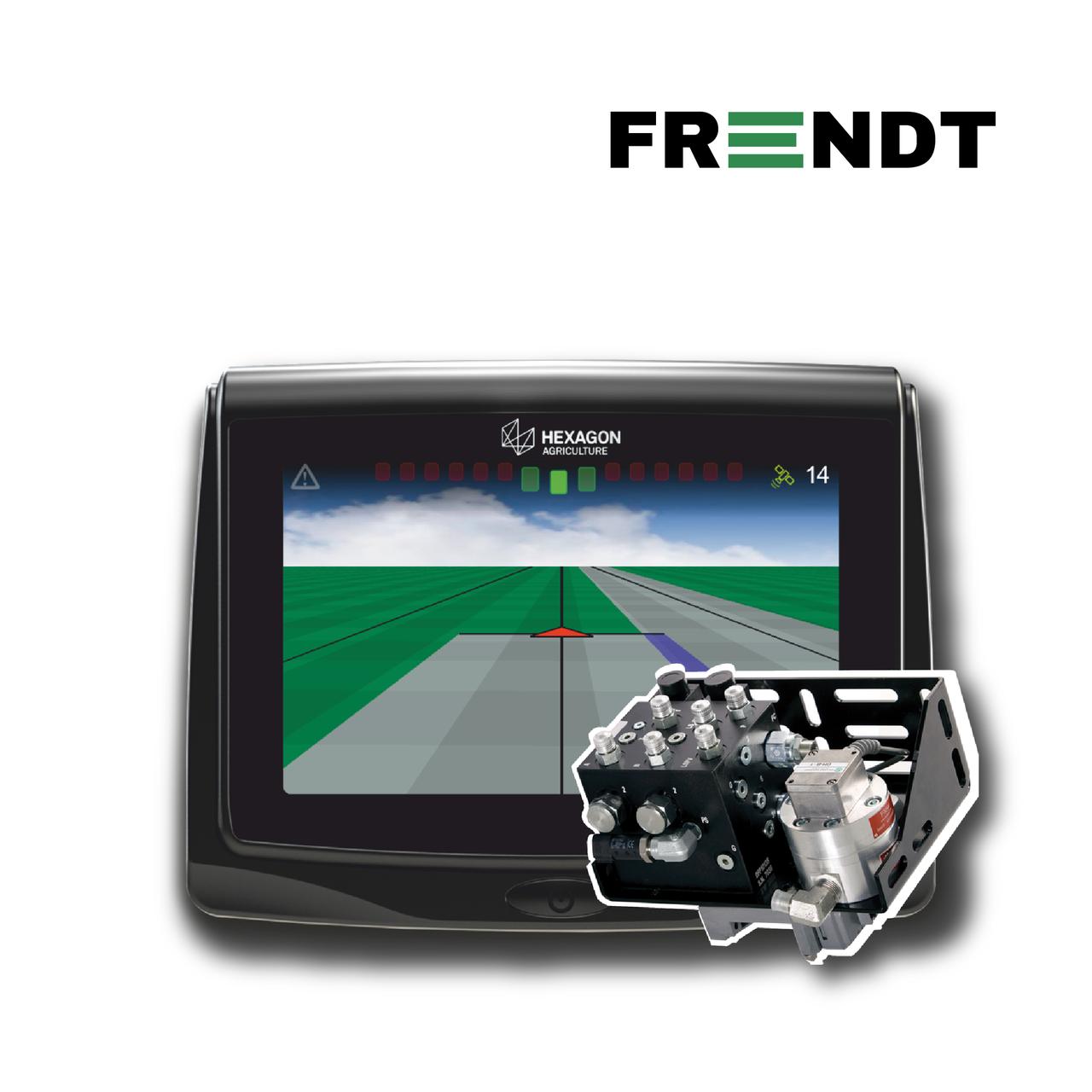 Система автоматического вождения (автопилот) Hexagon на Fendt