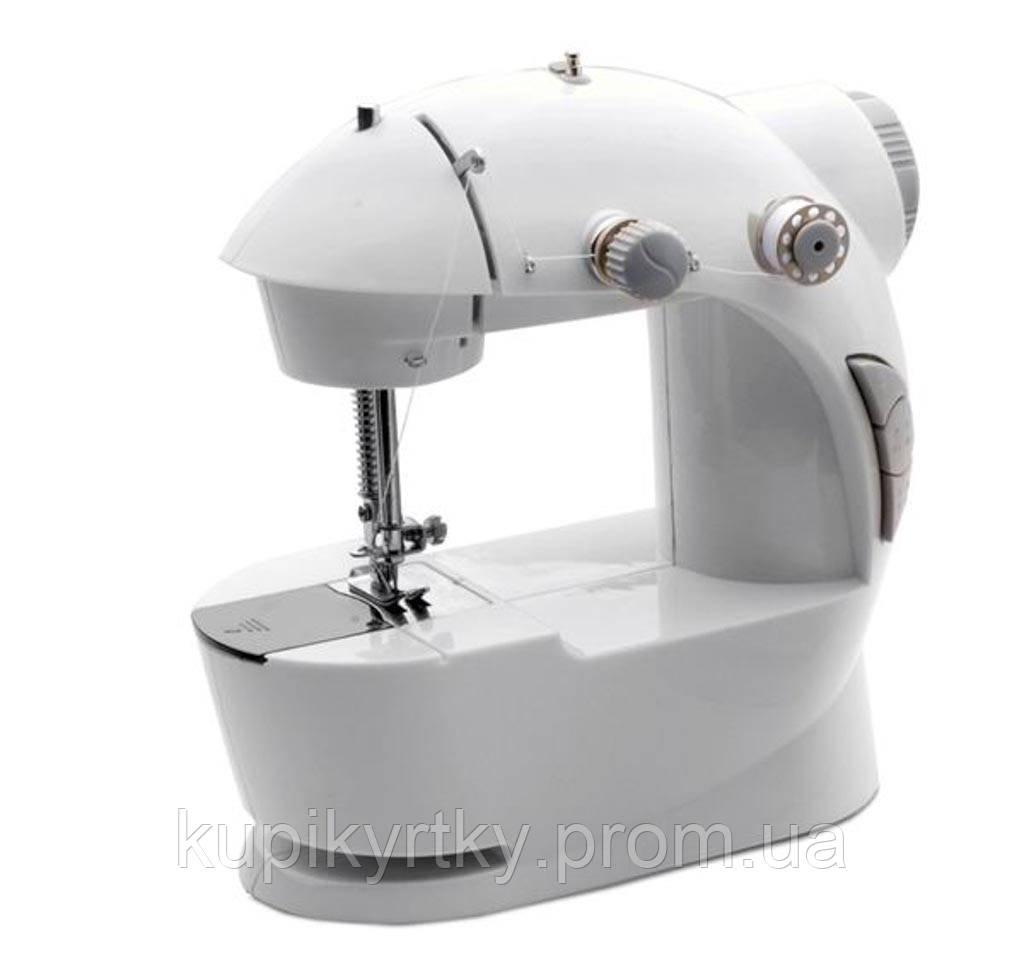 Портативная швейная машинка 4 в 1 с адаптером 220