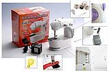 Портативная швейная машинка 4 в 1 с адаптером 220, фото 2