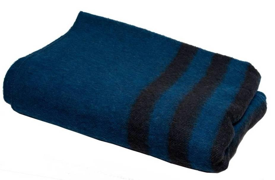 Одеяло армейское полушерстяное 140х205см от 5шт