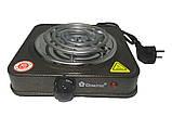 Электроплита Domotec MS-5801 плита настольная, фото 2