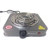 Электроплита Domotec MS-5801 плита настольная, фото 7