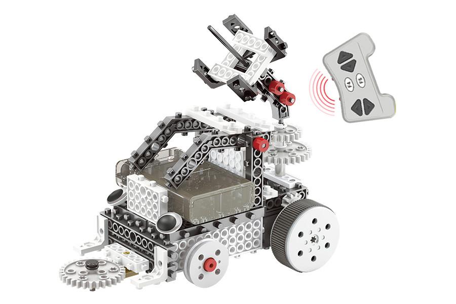 Конструктор STEM с пультом HIQ R732 4-в-1 253 детали (луноходы)
