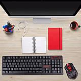 Беспроводная игровая клавиатура и мышь UKC HK-6500, фото 8