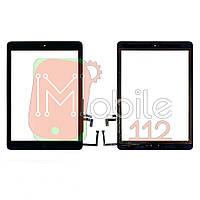 Сенсор (тачскрин) Apple iPad Air A1474 A1475 A1476, iPad 5 9.7 2017 A1822 A1823 черный оригинал Китай полный