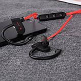 Беспроводные спортивные Bluetooth наушники MDR RT 558 BT с креплением на ухо, фото 4