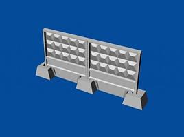 Набор советских бетонных заграждений тип ПО-3м. 1/144 METALLIC DETAILS MDR14404