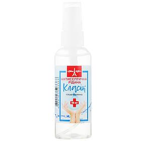 Антисептическая жидкость для рук Eva Cosmetics Arthur LeBlanc Классическая без ароматизатора 50 мл