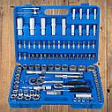 """Автомобильный набор инструментов для авто кейсы. Набор насадок торцевых и биты 1/4"""", 1/2"""" 108шт (6003205), фото 2"""