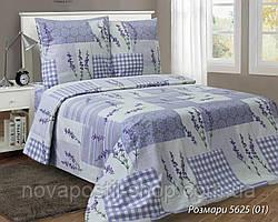 Ткань для постельного белья, бязь белорусская Розмари