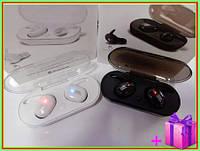 Беспроводные Bluetooth наушники JBL TWS 4, блютуз гарнитура ЖБЛ ТВС 4 с зарядным кейсом. ЧЕРНЫЕ, БЕЛЫЕ