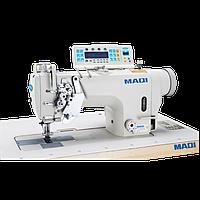 MAQI 8750N-D4  Двухигольная  машина с отключением игл, увеличенным челноком  и автоматикой