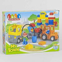 Детский конструктор для мальчика JDLT 5111 Спецтехника 43 детали