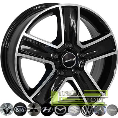 Литой диск Zorat Wheels BK473 6.5x16 5x160 ET60 DIA65.1 BP