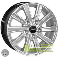 Литий диск Zorat Wheels BK519 6.5x15 5x114.3 ET39 DIA60.1 HS